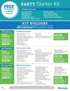 Norwex Kit Builder Packages 2019