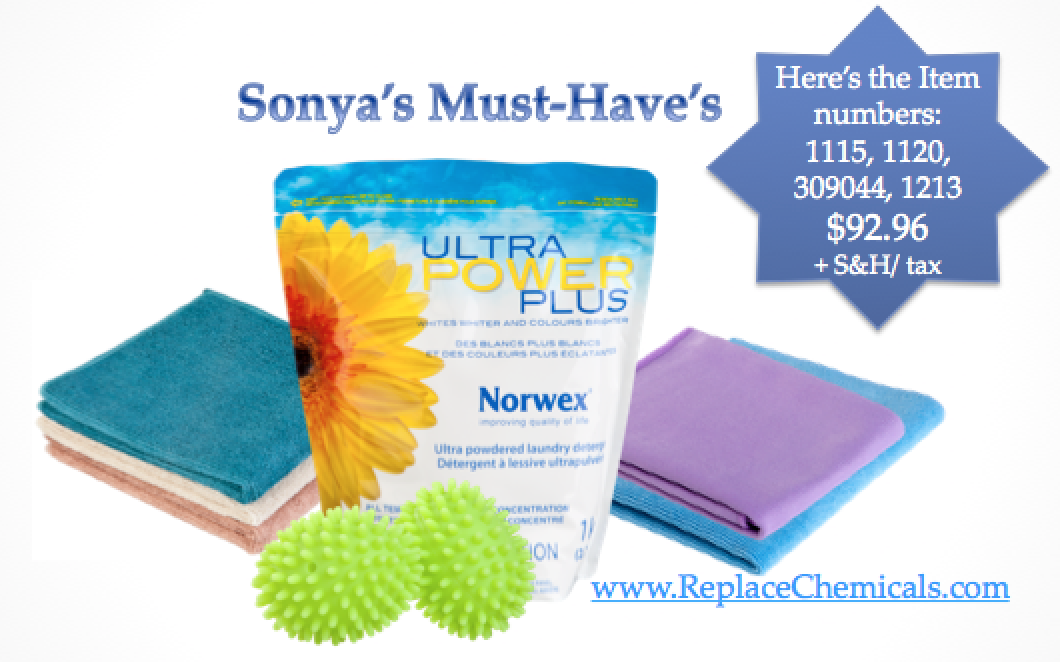 Sonyas Norwex Must Haves
