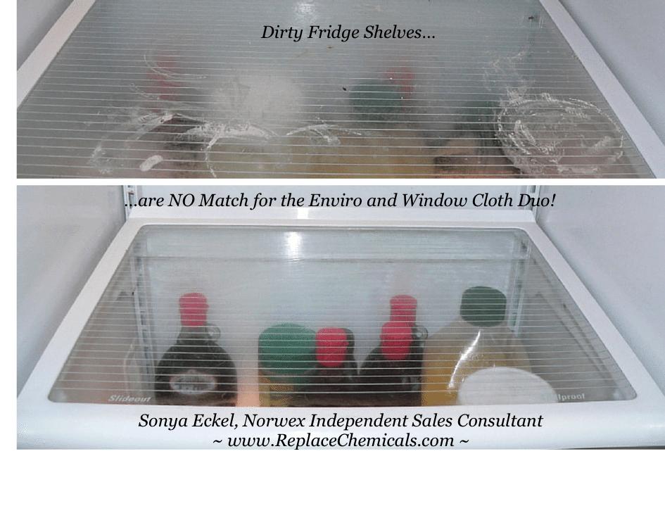 dirty-fridge-shelf-and-norwex