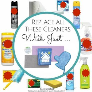 Norwex: Mechanical Cleaning vs. Chemical Cleaning