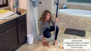 Norwex Mop Floor System- Broom and Mop all in one!