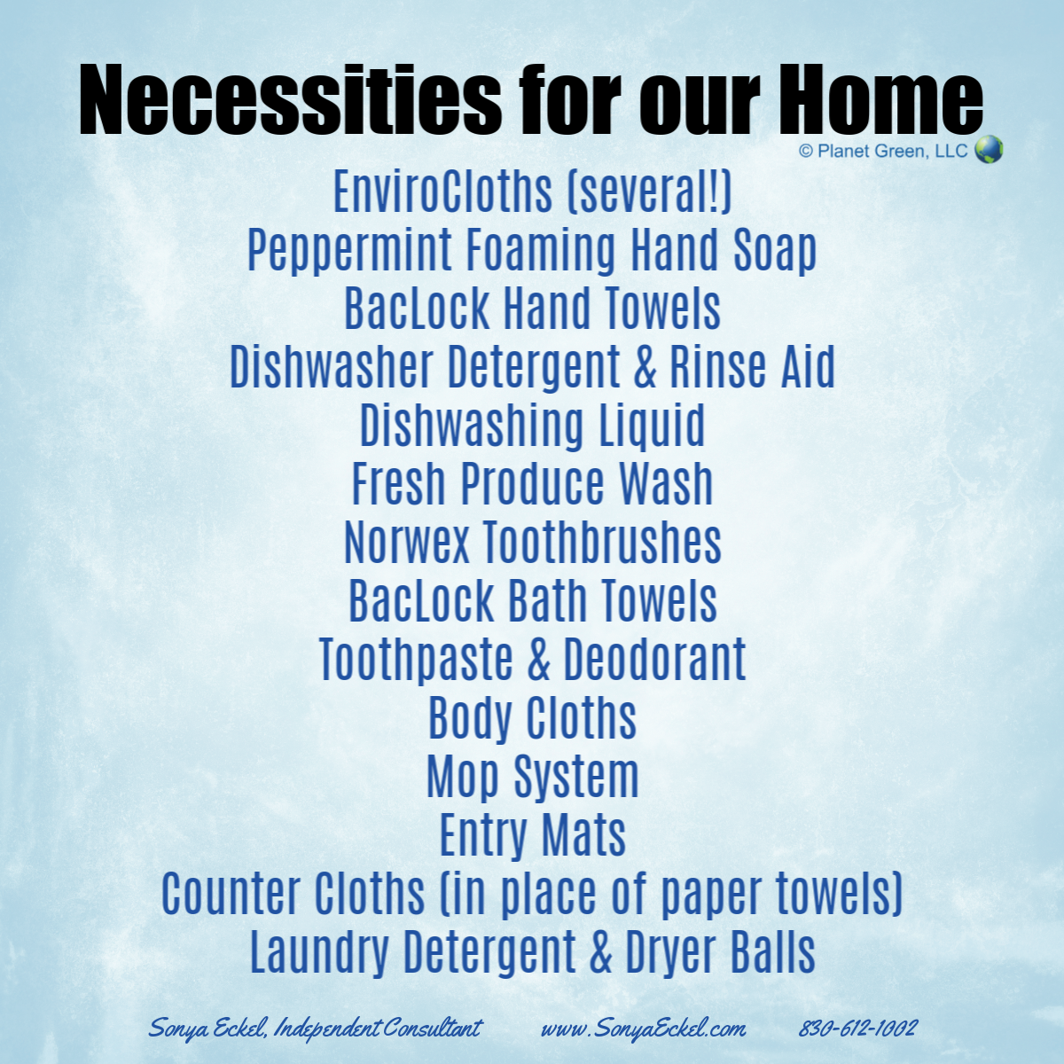 Norwex Necessities for Our Home