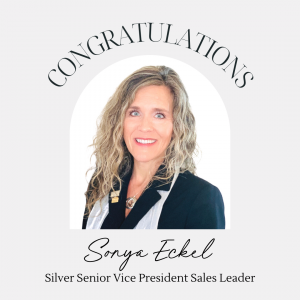 Sonya Eckel - Silver Senior Vice President Sales Leader with Norwex