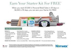 FREE Norwex starter kit!